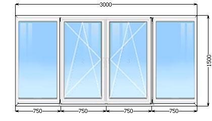 Вартість стандартного балкона в хрущовці, місто київ.