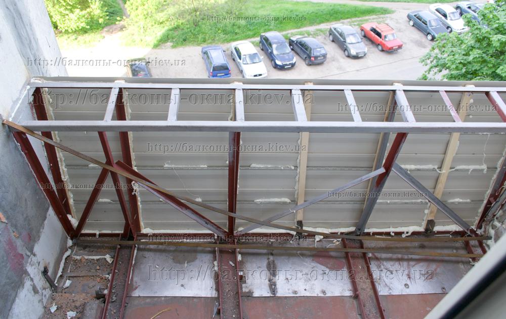Как своими руками сделать балкон с выносом.